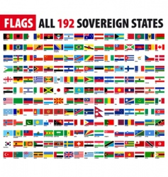 World flags series vector