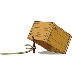 trap vector image