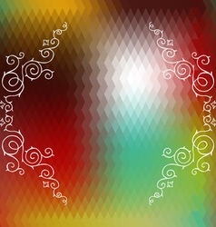 BackgroundGeometric11 vector image vector image