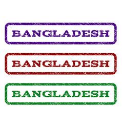 Bangladesh watermark stamp vector