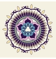 Colorful mandale design vector