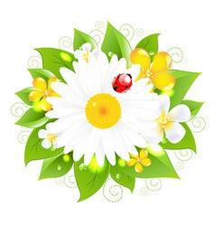 Flowers for design vector