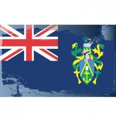Pitcairn islands flag vector