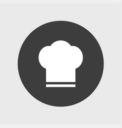 chef hat icon simple vector image vector image