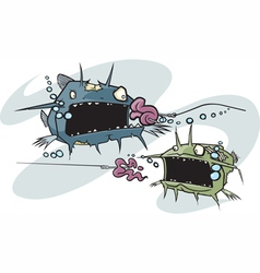 Zombie cats also vector