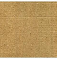 Cardboard texture vector image