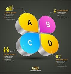 Abcd 3d vector