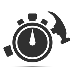 Quick repair icon vector