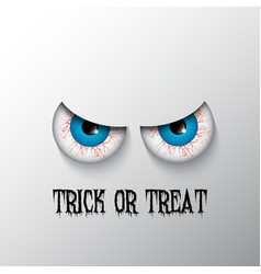 trick or treat halloween background 2508 vector image vector image