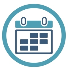 Month appointment icon vector