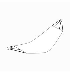Hammock icon isometric 3d style vector
