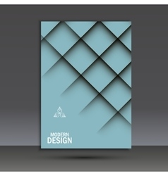 Brochure design layout template cover vector