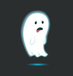 Cute ghost single 1 vector