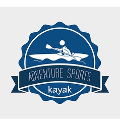 Extreme sports design vector image vector image