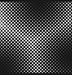 Geometrical abstract halftone circle pattern vector