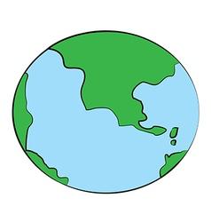 Globe01 vector image