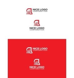 Signal truck logo vector