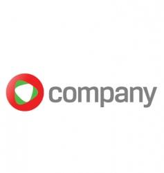 technology logo vector image