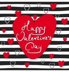 Happy Valentines day vector image