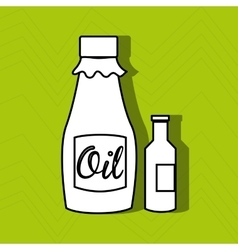 Oil product design vector