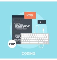 Program coding vector