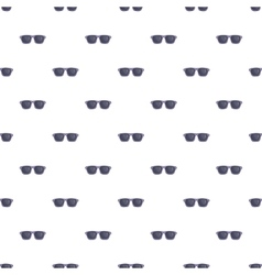 Summer glasses pattern cartoon style vector