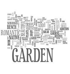 Why add decor to your garden text word cloud vector