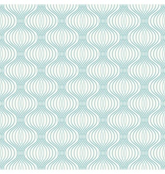 Abstract geometric ogee pattern vector