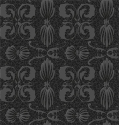 old style black and white seamless background vector image