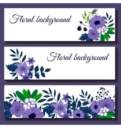 Cute web banners design template vector