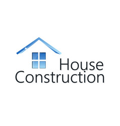 Home construction silhouette vector