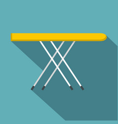 Ironing board icon flat style vector