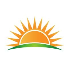 Sunshine logo vector