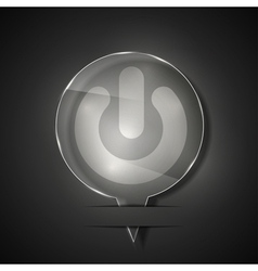 UI Map location icons vector image