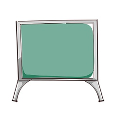 A board vector image