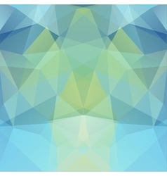 Background made of blue green triangles square vector