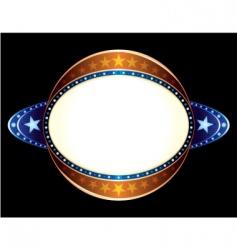 sphere neon vector image