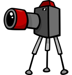 Camera clip art cartoon vector