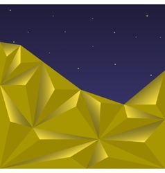 Golden polygonal vector