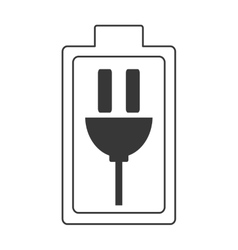 charging battery symbol icon vector image