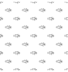 Clown fish pattern simple style vector
