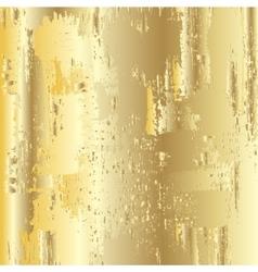 Golden grunge background vector image vector image