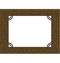 photo album page frame pattern background vector image