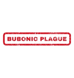 Bubonic plague rubber stamp vector