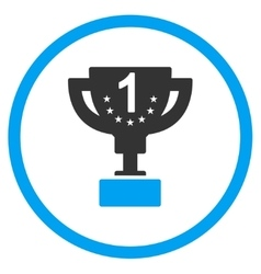 First prize icon vector
