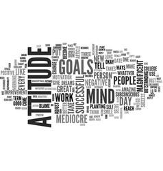Attitude adjustment nine ways to transform you vector