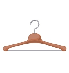 clothes hanger hook isolated icon design vector image