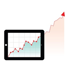 Tablet graph growth vector