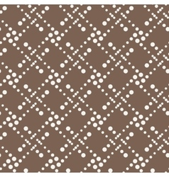 Seamless geometric pattern of dots of vector