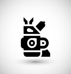 Motor icon vector